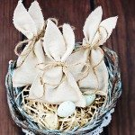 Vintage Inspired Easter Bunny Favor