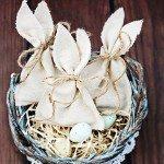 Vintage Inspired Easter Bunny Favor