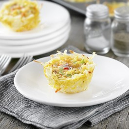 Individual Frittata on Plate
