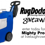 Rug Doctor Mighty Pro X3 Giveaway
