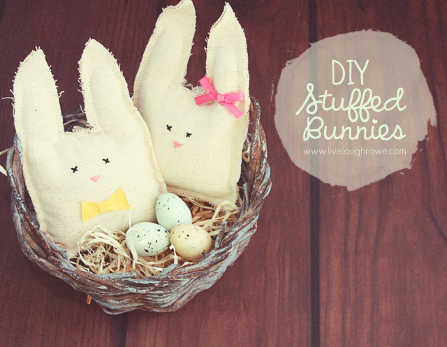 diy stuffed bunnies