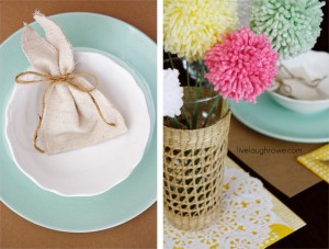 Easter Tablescape | Simple & Colorful
