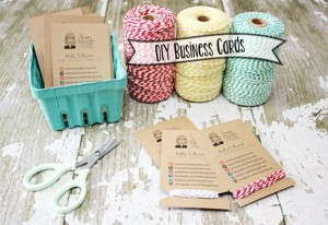 DIY Business Cards | Crafty Style