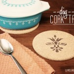 DIY Cork Trivet with Woodburning