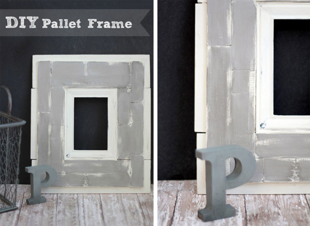 DIY Pallet Frame_Making Home Base