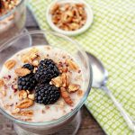 Delicious Overnight Oats with Berries. livelaughrowe.com