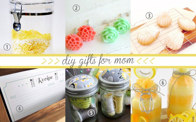 home homemade gifts for mom from