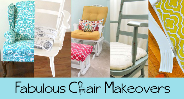 fabulous diy chair makeovers