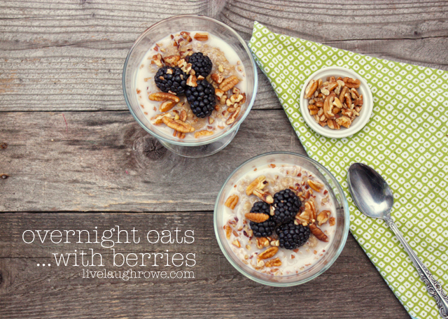 overnight oats recipe with Soymilk