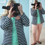 What I Wore Wednesday | Stripes and Pastels