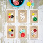 Jars of Buttons | Handmade Gift Tags