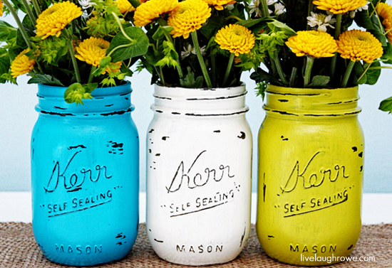 DIY Painted Mason Jars_550
