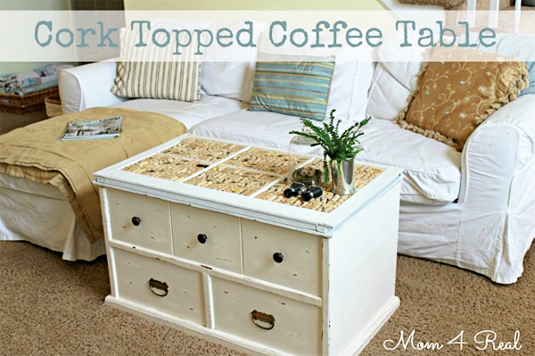Kelly's Pick Cork Topped Coffee Table