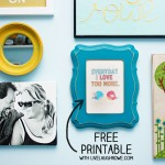 Free Every Day Love Printable