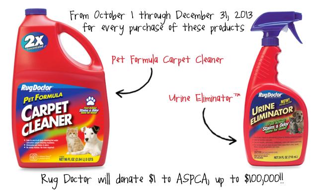 Rug Doctor Carpet Cleaner Pet Formula