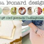 Lisa Leonard Designs   Giveaway