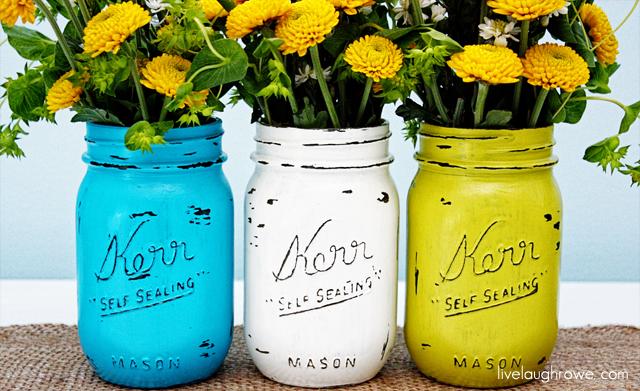 DIY Painted Mason Jars_640