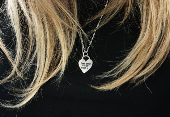 Follow Your Bliss Necklace