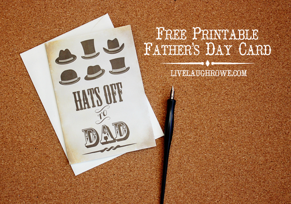 graphic about Free Printable Funny Father's Day Cards identify 8 Cost-free Fathers Working day Playing cards Printables - The Wilderness Spouse