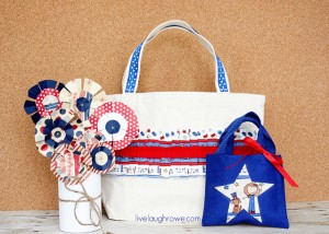 A Patriotic Craft with Tote Bags