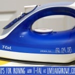 Tips for Ironing with T-Fal