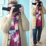 Colorful Old Navy Scarf | WIWW #62