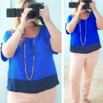 Royal Blue and Peach | WIWW #67