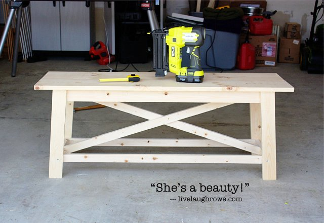 Woodwork Rustic Bench Diy PDF Plans