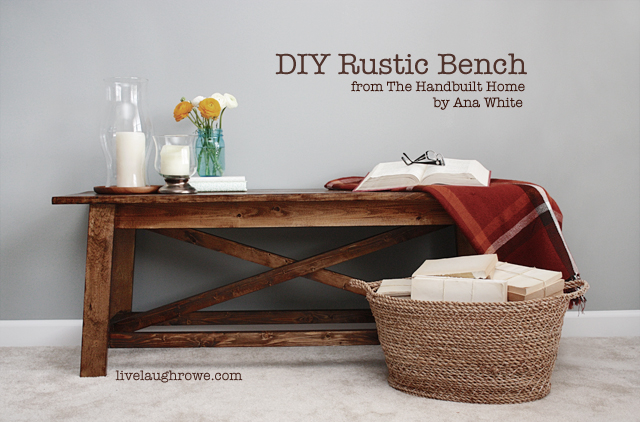 Download Rustic Bench Diy PDF sewing room storage cabinets