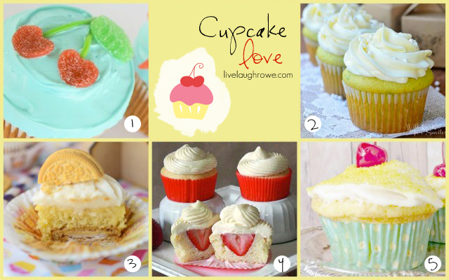 Featuring Cupcake Love with livelaughrowe.com