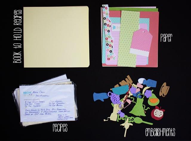 Supplies for Family Craft | DIY Cookbook with livelaughrowe.com