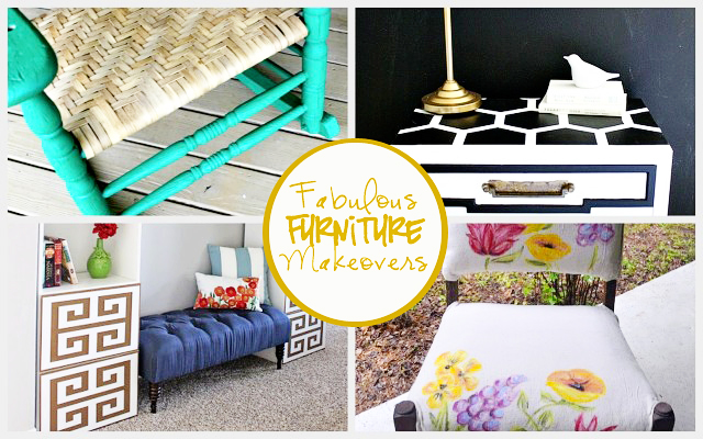 Fabulous Furniture Makeovers.  Features at Live Laugh Linky