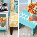 Stencil a Step Stool with ScotchBlue Painter's Tape
