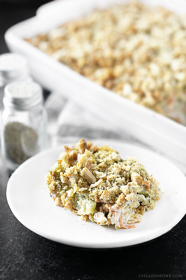 Single Serving Zucchini Casserole