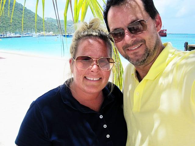 Steve & Kelly St. Maarten 2013
