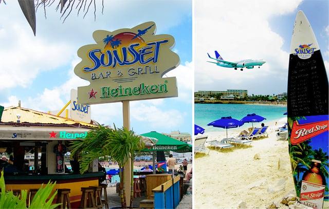 Sunset Bar and Grill St. Maarten