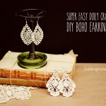 Doily Craft | DIY Boho Earrings