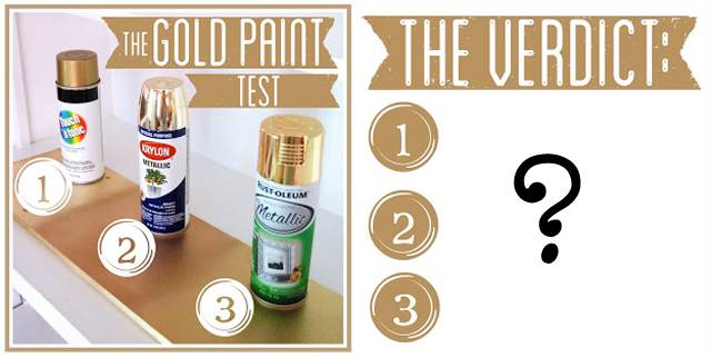 The Gold Paint Test
