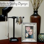 Upcycled: From Towel Holder to Jewelry Organizer