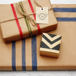 DIY Wrapping Paper with ScotchBlue™ Painters Tape