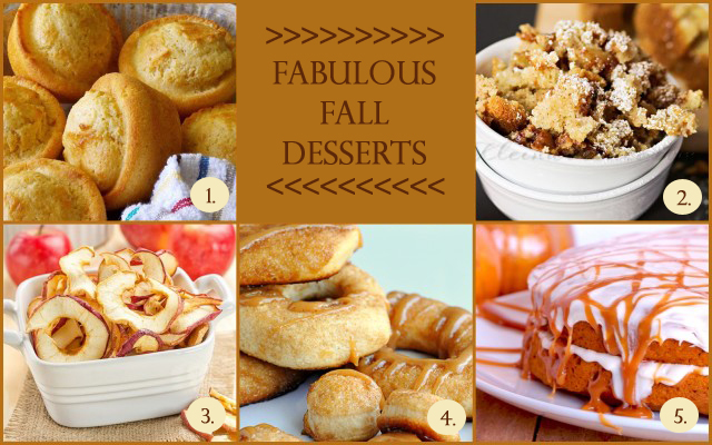 Fabulous Fall Desserts with livelaughrowe