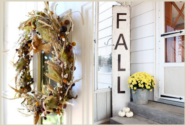 Fall Inspired Decor Features with livelaughrowe.com