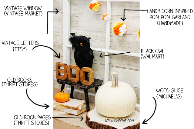 Halloween Vignette What's What