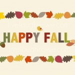 Happy Fall Printable