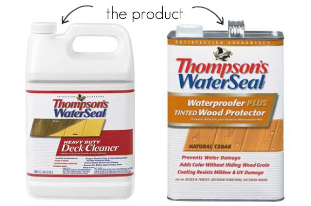 Thompson's WaterSeal Deck Products