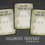 You're Boo-tiful!   Halloween Printable