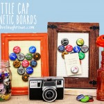 DIY Bottle Cap Magnetic Boards