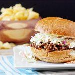BBQ Carnitas Pork Sandwich