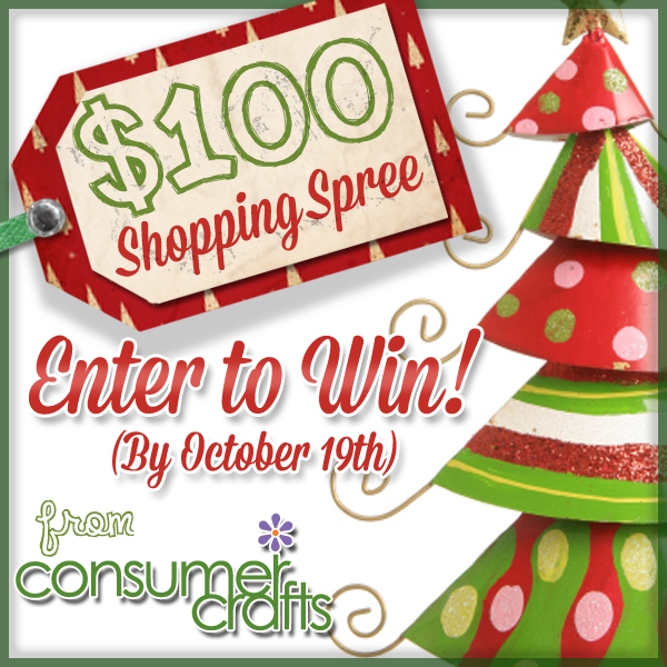 Consumer Crafts and Blogger Holiday Givaway
