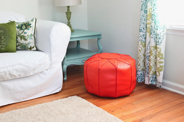 DIY Moroccan Pouf from The Winthrop Chronicles